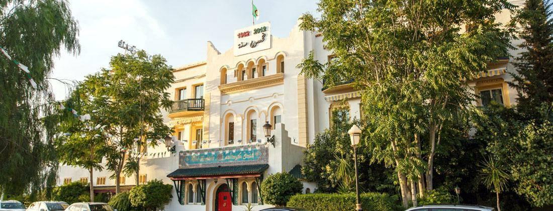 L'Hôtel Kerdada, une des merveilles de Bousaâda