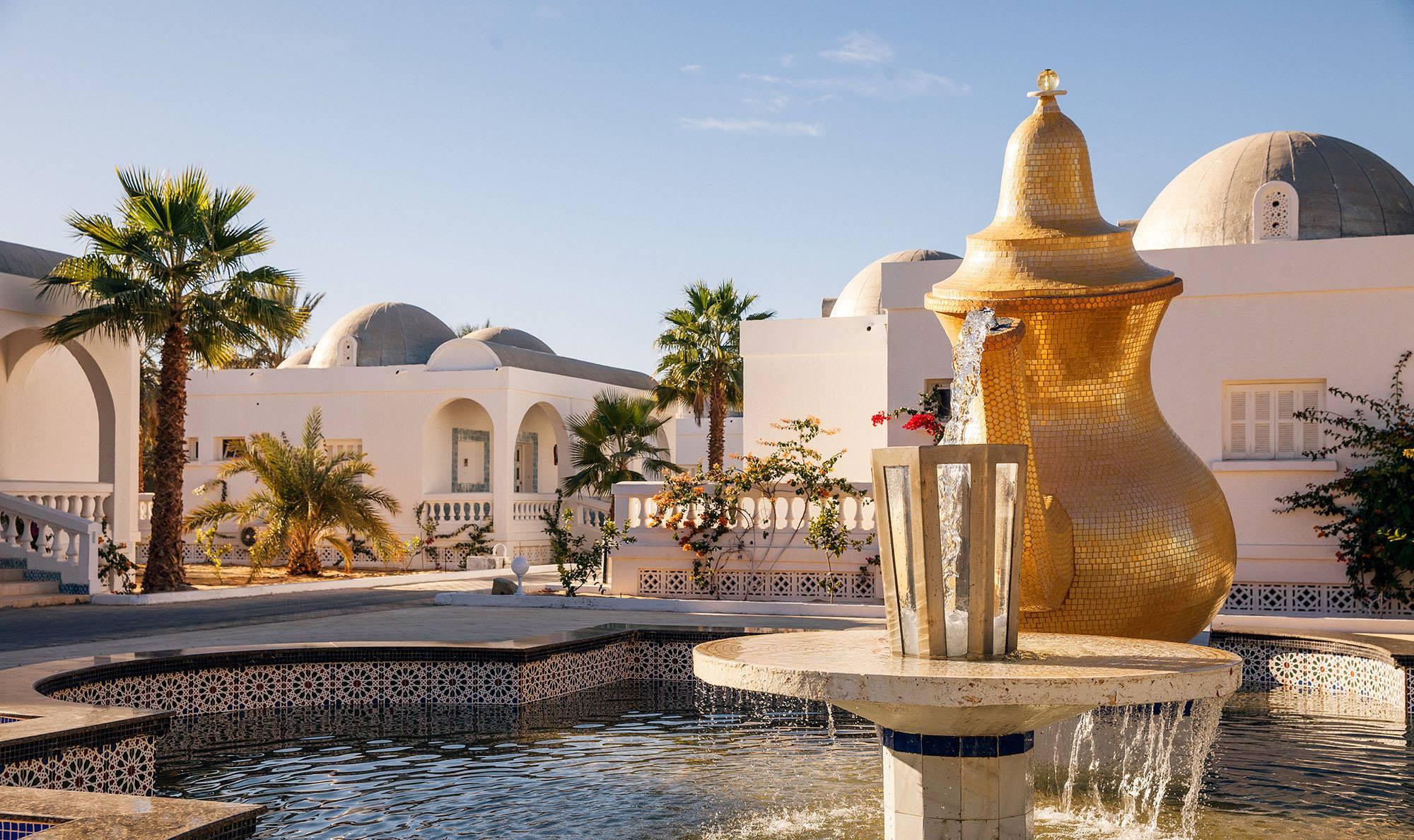 Le complexe de la Gazelle d'Or à Oued Souf